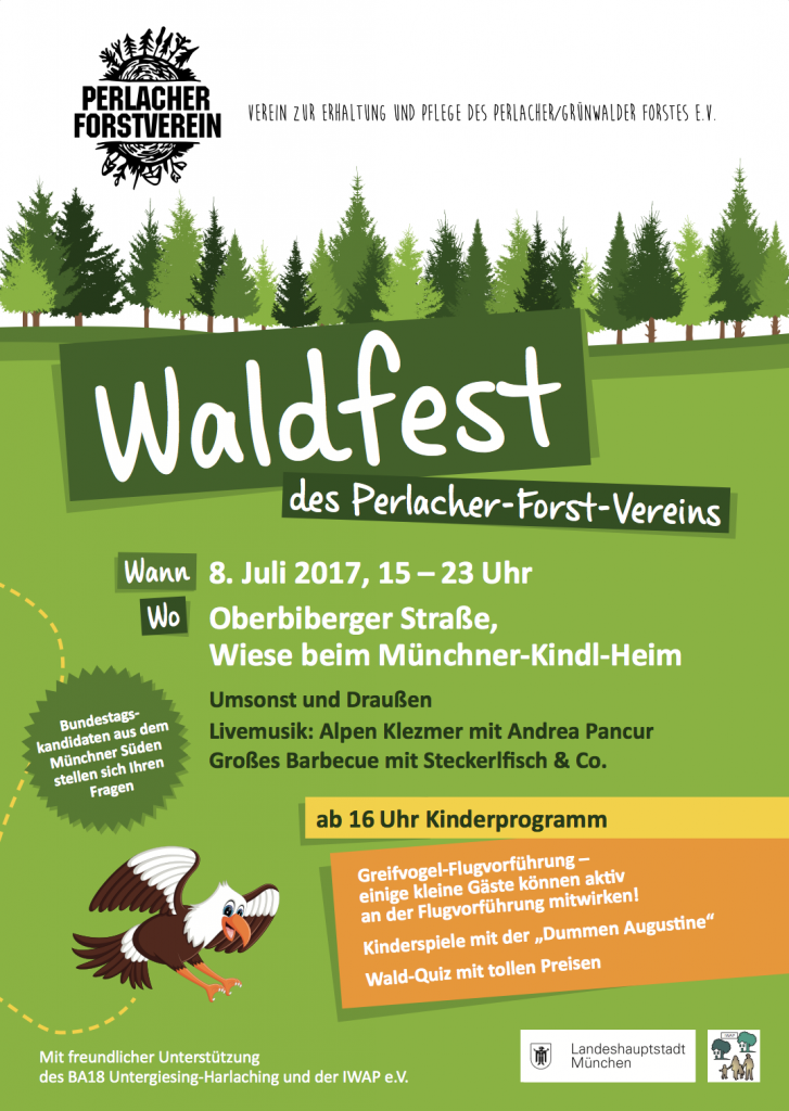 Waldfest im Perlacher Forst